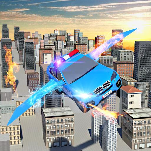 Futuristic Robot Car Transformation:Flying Battle (game)