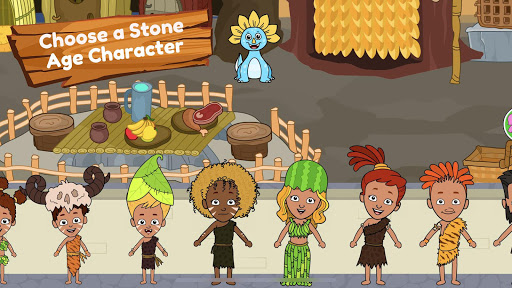 My Dinosaur Town - Jurassic Caveman Games for Kids 3.1 Screenshots 5