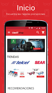 Claro shop- screenshot thumbnail