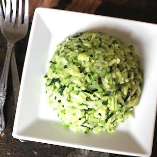 Paleo Zucchini Rice