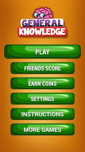 Všeobecné Znalosti Kviz Hra - náhled