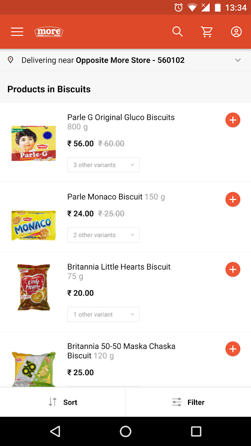 My More Store - Grocery Shop- screenshot