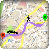 GPS Route Finder & Direction