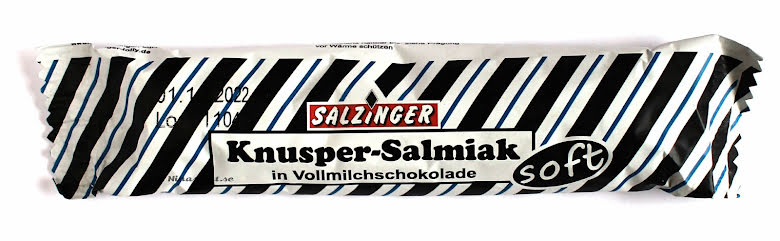 Knusper salmiak med mjölkchoklad – Salzinger