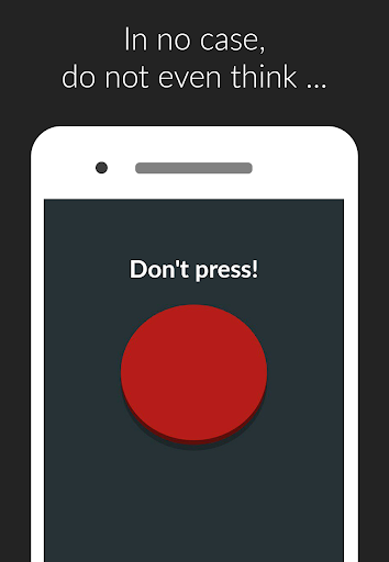 Red Button: don't press the button,this not a game apkmartins screenshots 1