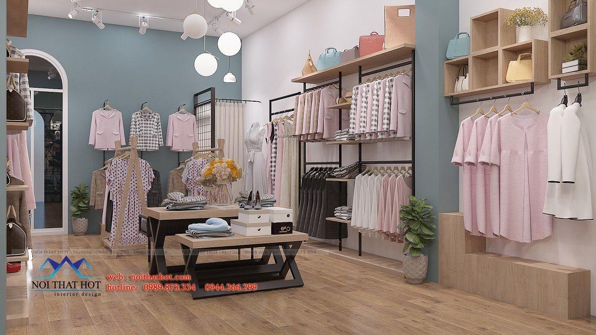thiết kế shop thời trang nữ 2ce 7