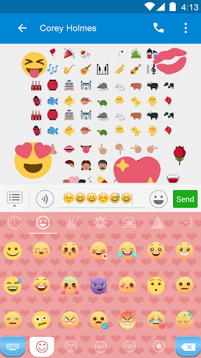 玩免費遊戲APP|下載Love Of Passion Emoji Keyboard app不用錢|硬是要APP