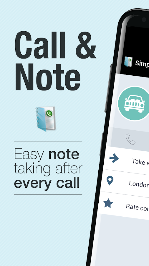 Simple Call Notes- screenshot