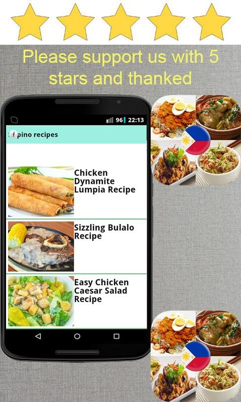 Filipino recipes apk 12 download free lifestyle apk download filipino recipes apk forumfinder Images