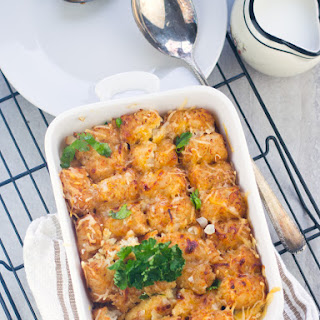 Easy Tater Tots Breakfast Casserole