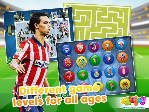 La Liga Educational games. Games for kids 6.3 screenshots 12