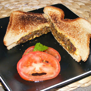 Bulgur Black Bean Vegetable Patties for Burger