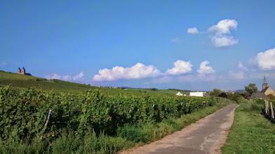 Photo: På vandring mod Abtei St. Hildegard