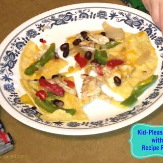 Kid-Friendly Fajita Pizza with Birds Eye Recipe Ready Veggies