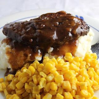 Stovetop Salisbury Steak.
