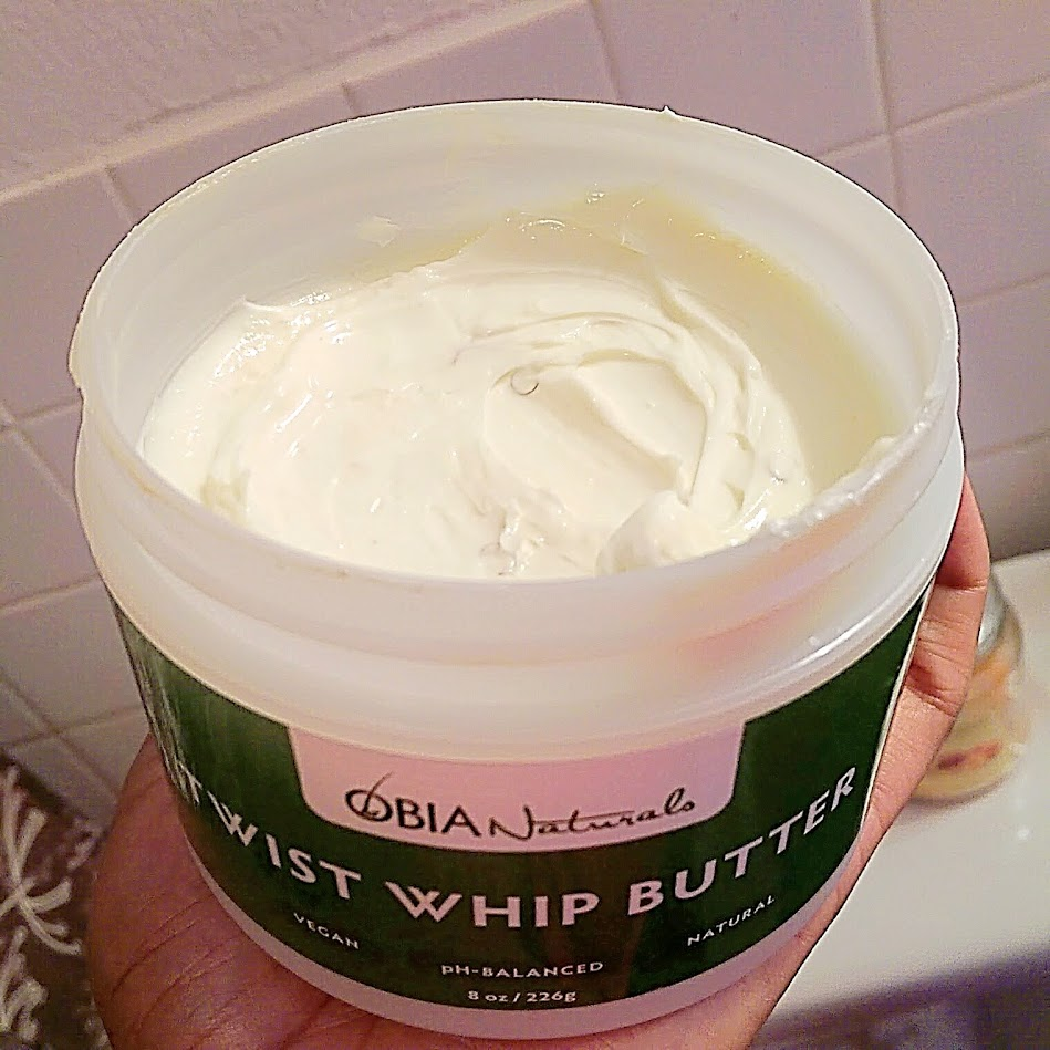 Obia Naturals TWIST WHIP BUTTER | This NATURAL Thing Review