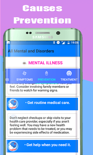 All Mental Disorders and Treatment  screenshots 3