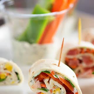 Veggie Tortilla Roll Ups.