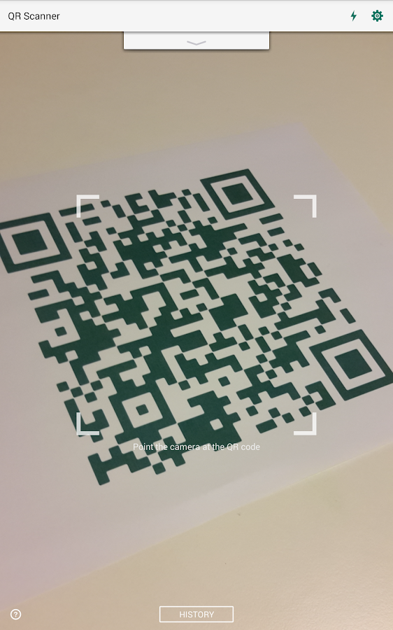 QR Code Reader and Scanner: App for Android- screenshot