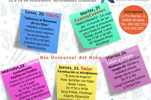 En Actívate Psicología el Día del Niño se conmemora con actividades gratuitas del 20 al 24 de noviembre
