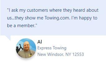Testimonial Express Towing