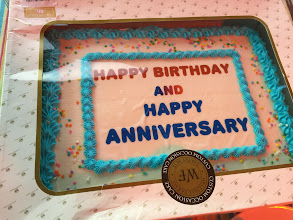 Photo: We had some birthdays and an anniversary this month.....
