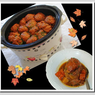 Slow Cooker Beef Stew With Dumplings.