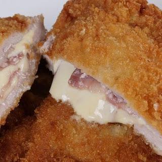 Cheese Ham pork chops