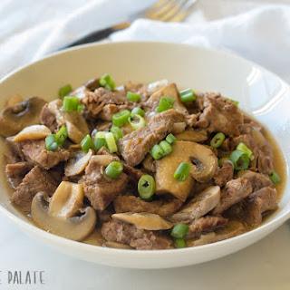 Paleo Instant Pot (Pressure Cooker) Beef Sirloin Tips Recipe