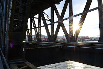 Photo: From the Steel Bridge lower walkway.