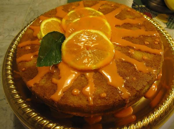 Zesty Orange Cake Recipe