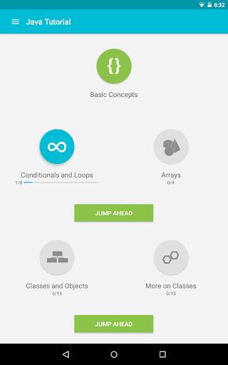 Learn Java 3.8.1 Screenshots 12