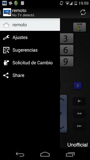 Remoto para televisor Samsung screenshot 3