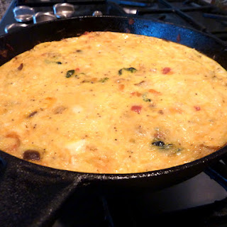 Baked Sausage and Vegetable Frittata