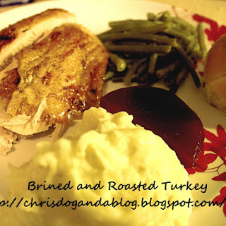 Brined and Roasted Turkey...Gobble, Gobble?