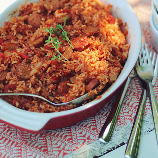 Red Rice And Sausage With Tomato Paste Recipes