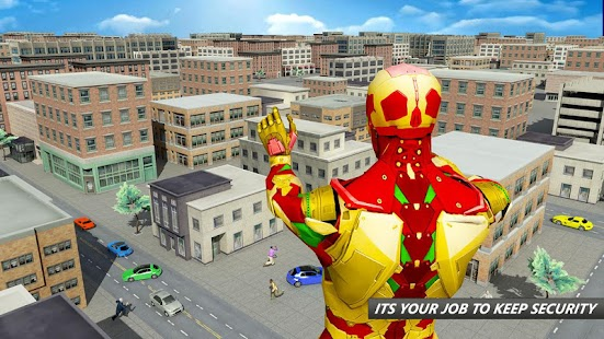 Flying Robot Superhero: Crime City Rescue- screenshot thumbnail