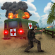 4x4のオフロード救急車のゲーム
