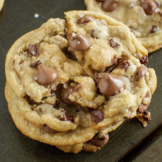 Chewy Milk Chocolate Sea Salt Cookies Recipe