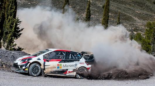 Un año más han estado en Almería las principales marcas del mundial de rallyes preparando el Rallye de México.
