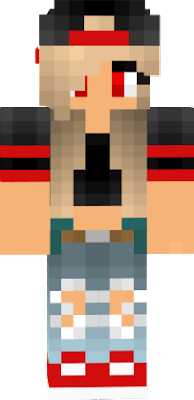 i took this skin and edited it to make it my own and if the creator sees this hope you dont mind