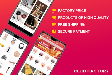Club Factory – Online Shopping App 1