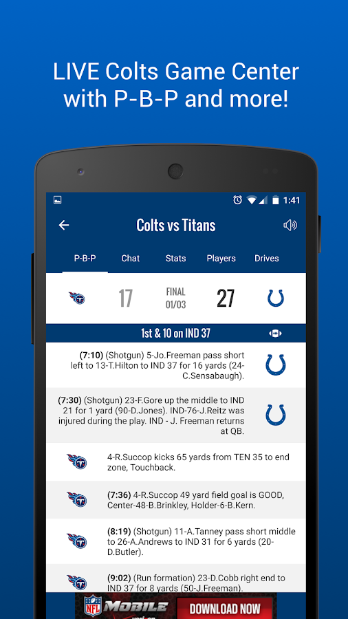 Indianapolis Colts Mobile- screenshot