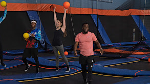 Trampoline Dodgeball With Anna Kendrick and Kevin Hart thumbnail