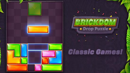 Download Brickdom - Drop Puzzle For PC Windows and Mac apk screenshot 6