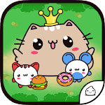 Princess Cat Nom Nom Evolution Icon