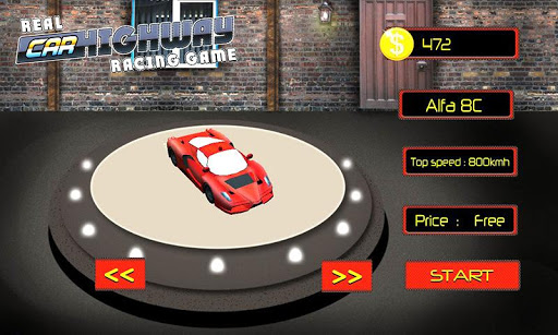 Highway Real Car Racing Game