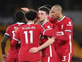 Premier League : Liverpool se relance contre les Wolves de Dendoncker