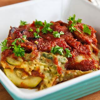 Italian Layered Vegetable Casserole.