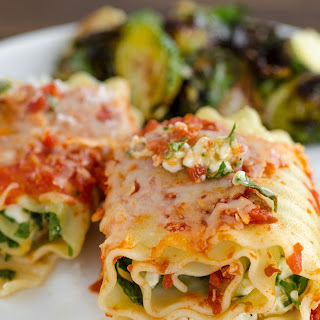 Spinach Lasagna Roll-Ups Recipe